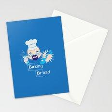 Baking Bread Kawaii Stationery Cards