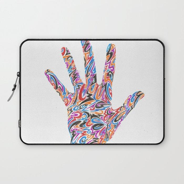 Hand  Laptop Sleeve