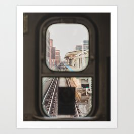 Loop Bound - Chicago El Photography Art Print
