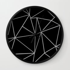 Fracture Wall Clock