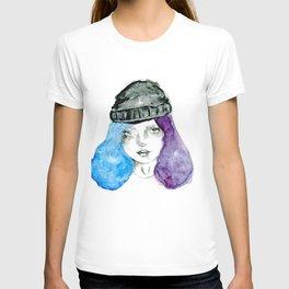 Random girl T-shirt
