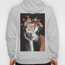 WOMAN WITH FLOWERS 7 Hoody