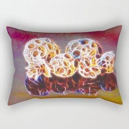 Balls and Cones  Abstract Rectangular Pillow