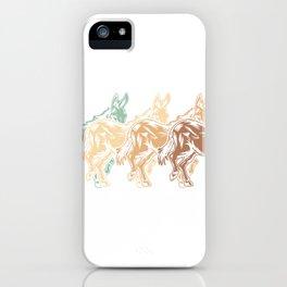 Donkey Gift Idea iPhone Case