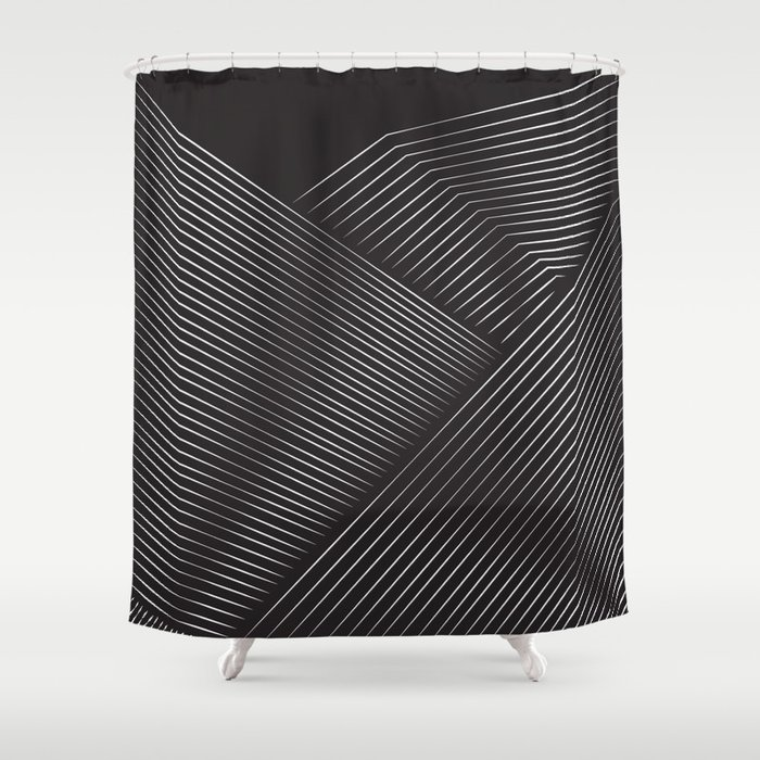 Layer Upon Shower Curtain
