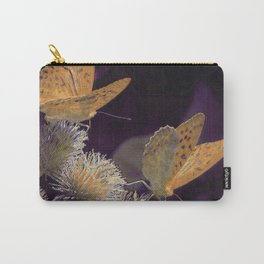 Orange Butterflies I Carry-All Pouch