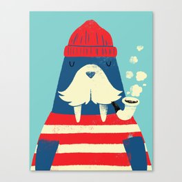 The Walrus Canvas Print