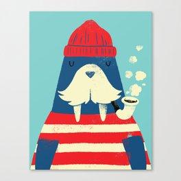 The Walrus Canvas Print