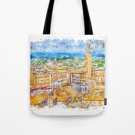 Siena, cityscape Tote Bag