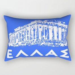 Greece, Hellas Rectangular Pillow