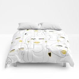 In Mustard Comforters