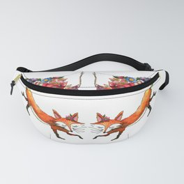 Hunt Flowers Not Foxes One Fanny Pack