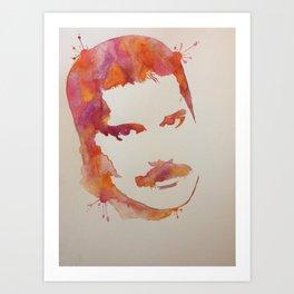 Mercury splash Art Print