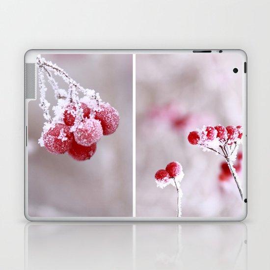 Red Berries Quadro Laptop & iPad Skin