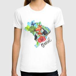 Brasil Watercolor T-shirt