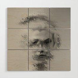 The Unknown selfie Wood Wall Art