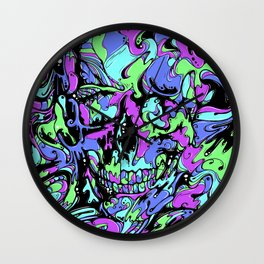 SKULL (Colorway A) Wall Clock