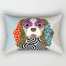 king charles cavalier spaniel Rectangular Pillow