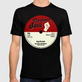 Northern Soul graphic - Keep The Faith Tee - Mod prints T-shirt