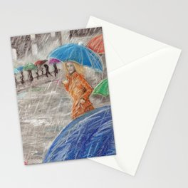 Rainy Days in Normandy Stationery Cards
