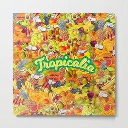 Tropicalia Fruits Metal Print