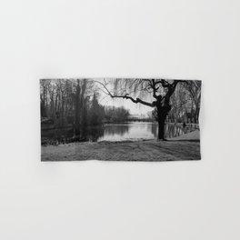 Bruges little lake Hand & Bath Towel