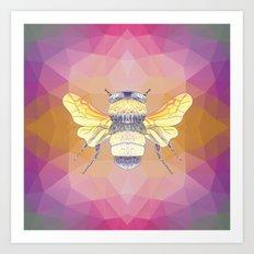 Oh Honey Art Print