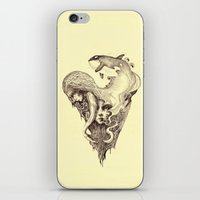 orca iPhone & iPod Skins featuring orca by Jakub Cichecki