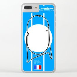 Montlhery Clear iPhone Case