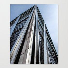 Skyscraper Kio Tower Madrid Canvas Print
