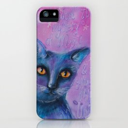 """""""Believe in life"""" original mixed media painting by Katrina Koltes iPhone Case"""