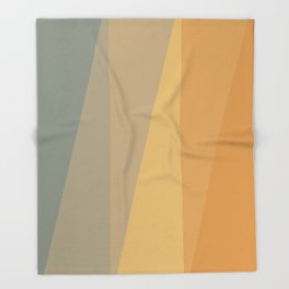 Sunset Hues Throw Blanket