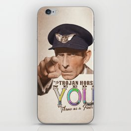 The Trojan Horse needs You...BUY A PRINT, FUND A FILM iPhone Skin