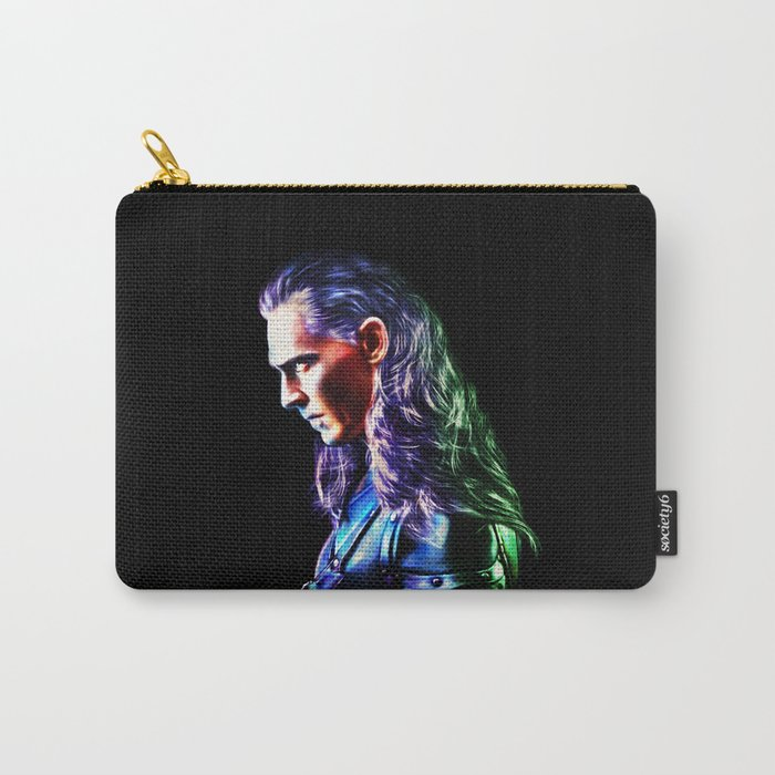 Loki - A Study In Perfection III Version Two Carry-All Pouch