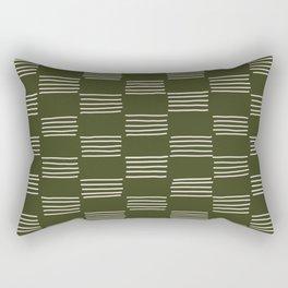 hatches –small doug fir Rectangular Pillow