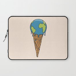 Earth Cream Cone Laptop Sleeve