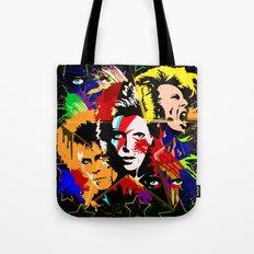 Bowie PopArt Metamorphosis Tote Bag