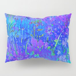 Soft Pastel Floral Pillow Sham