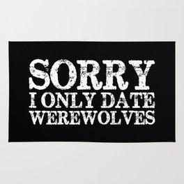 Sorry, I only date werewolves! (Inverted) Rug