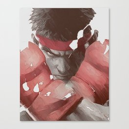 Street Fighter Canvas Print