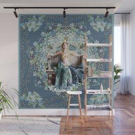 Adrienne  Femme Fractale Wall Mural