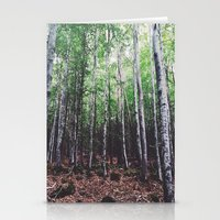 uncharted Stationery Cards featuring Uncharted Woods  by Oscar Goodwin