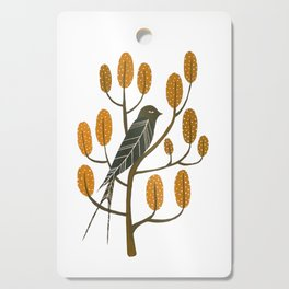 Swallow - golden brown Cutting Board