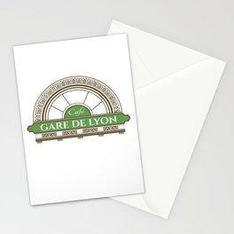 Café gare de Lion Stationery Cards