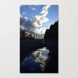 (#23) Commerce near Dog Mountain Canvas Print