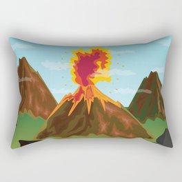 Hot Volcanos Rectangular Pillow