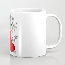 Cute Merry Christmas Cat Kitty Stocking Stuffer Coffee Mug