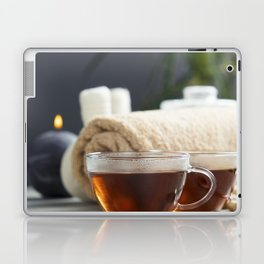 tea and spa composition Laptop & iPad Skin