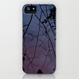Changes At Dusk iPhone Case