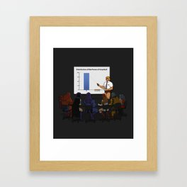 I Have the Powerpoint! Framed Art Print